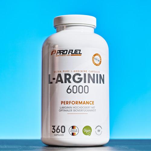 Arginin-Kapseln hochdosiert Test-Sieger