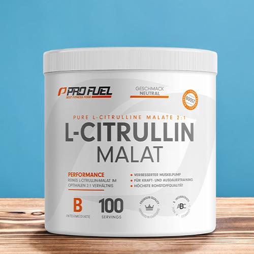 Citrullin Malat 2:1 Pulver Test Vergleich vegan