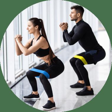 Mini Loop / Hip Loop Band - Fitnessband für Home-Training - Widerstandsband kaufen