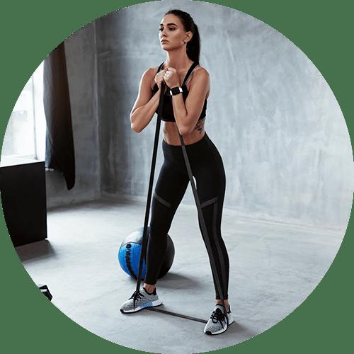 Fitnessbänder Widerstandsbänder Resistance Band für Home-Workouts kaufen