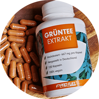 Grüntee Extrakt - Grüntee Kapseln - Wirkung