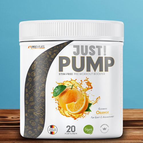 bester Pump Booster ohne Koffein - Pre Workout Booster - bester Trainingsbooster