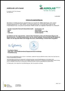 Kurkuma Kapseln mit Curcuma-Extrakt - laborgeprüft