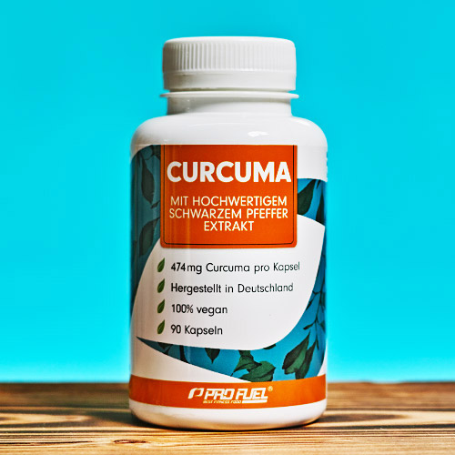 Kurkuma-Kapseln mit Curcuma-Extrakt - Review Test-Sieger
