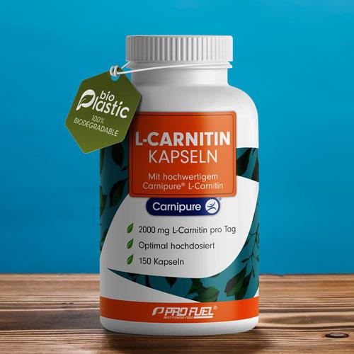 L-Carnitin Kapseln - 100% Carnipure