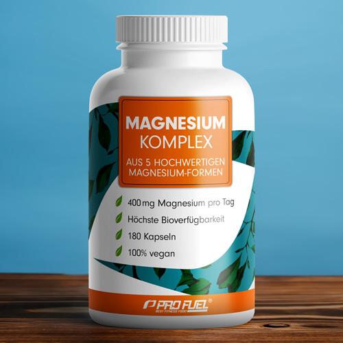 Magnesium-Mangel ausgleichen mit Magnesium hochdosiert als Magnesiumcitrat und Magnesium Bisglycinat - Test-Sieger