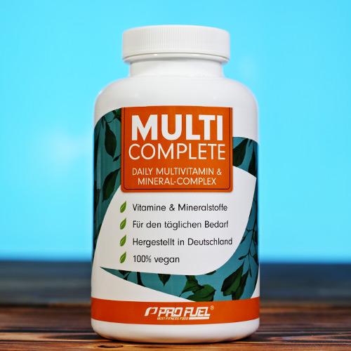 Multivitamin Multi-Mineral und Multi-Vitamin Komplex Kapseln Test-Sieger