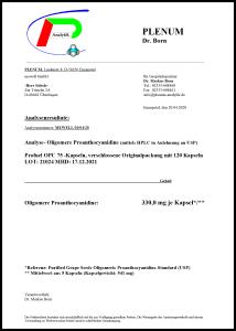 OPC Traubenkernextrakt Kapseln laborgeprüft