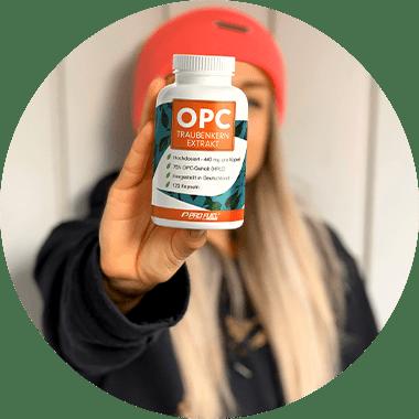 OPC Traubenkernextrakt - OPC Kapseln kaufen - OPC Testsieger