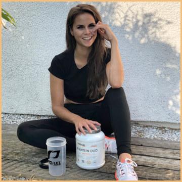 Reisprotein Erbsenprotein-Pulver - Protein-Shake vegan