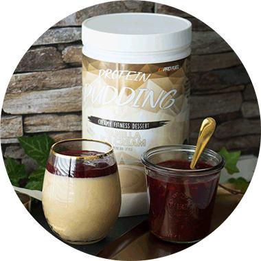 High Protein Pudding vegan - Eiweiss-Pudding-Pulver von ProFuel