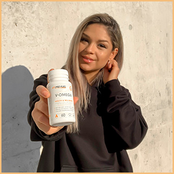 Vegan Omega 3 DHA & EPA Algenöl - ProFuel V-Omega