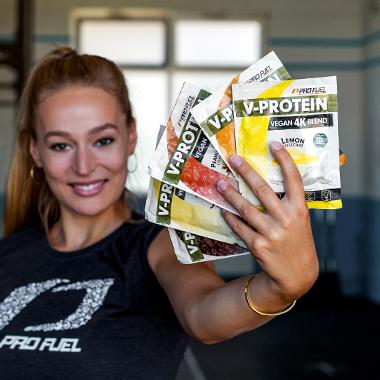Veganes Protein-Pulver mit bestem Geschmack