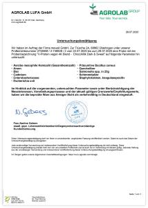V-Protein 4K Analyse-Zertifikat