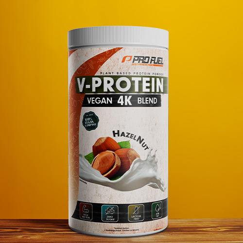 Veganes Protein-Pulver - Protein vegan Haselnuss