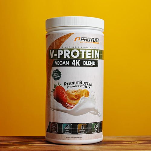 Veganes Protein-Pulver - Protein vegan Peanut Butter and Jelly