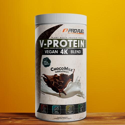 Veganes Protein-Pulver - Protein vegan Schokolade