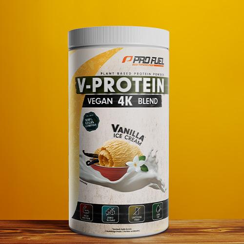 Veganes Protein-Pulver - Protein vegan in Vanille