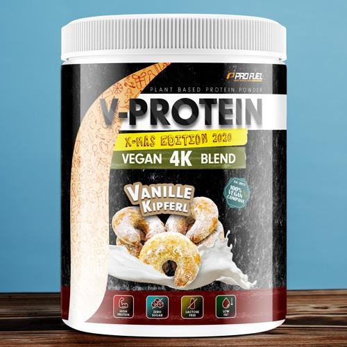 Veganes Protein-Pulver - Protein vegan Vanille-Kipferl