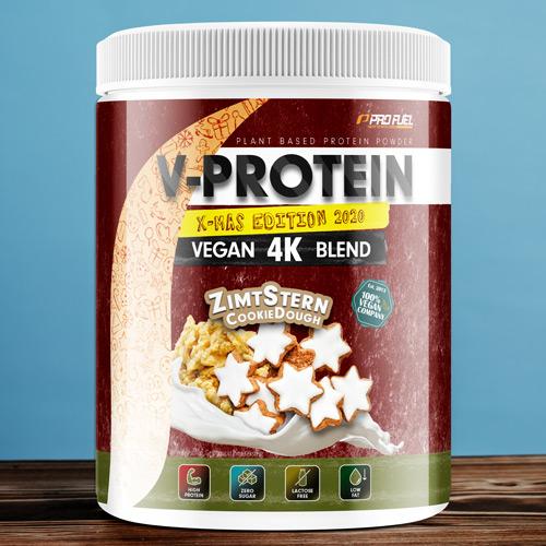 Veganes Protein-Pulver - Protein vegan Zimtstern