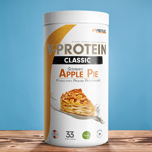 Vegan Protein Apple Pie - ProFuel V-PROTEIN