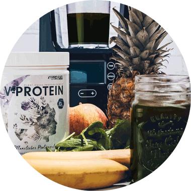 Vegan-Protein geschmacksneutral für grüne Smoothies - Proteinpulver vegan