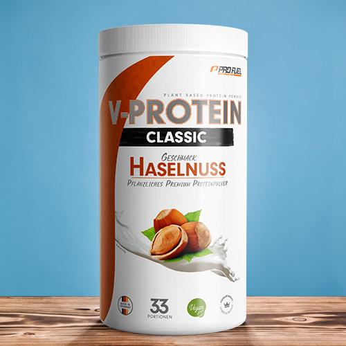 Vegan Protein Haselnuss - ProFuel V-PROTEIN