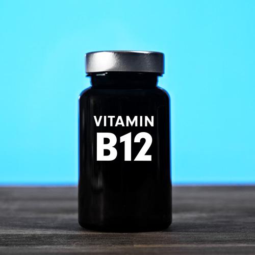 Vitamin B12 hochdosiert - Methylcobalamin Vit B12 + Folsäure Quatrefolic