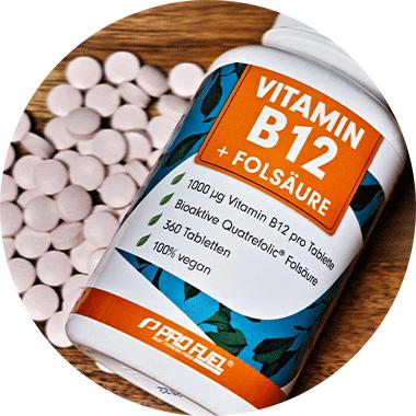 Vitamin B12 Methylcobalamin Vit B12 hochdosiert und vegan