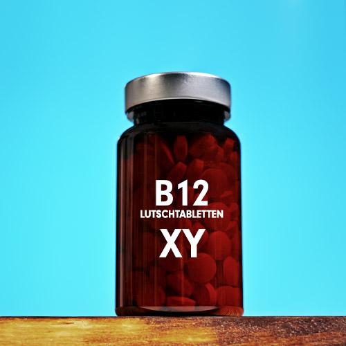 Vitamin B12 Lutschtabletten mit 1000 µg Methylcobalamin - bioaktiv hochdosiert