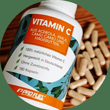 Natürliches Vitamin C vs. Ascorbinsäure - Vitamin C hochdosiert als Kapseln