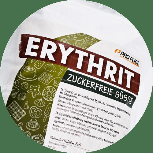 Erythrit - natürliche, zuckerfreie Zucker-Alternative - kalorienfrei
