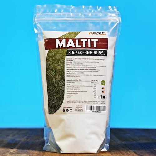 Maltit Zucker-Ersatz - Zucker-Alternative - 100% zuckerfrei - Test-Sieger