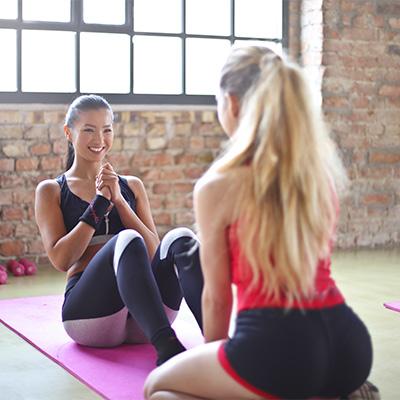 Abnehmen & Fettabbau durch Bauch Beine Po Training