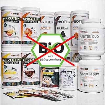 Bio Supplements in Bio-Qualität