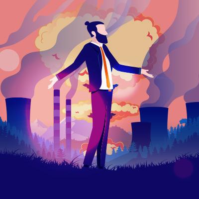 Klimawandel - Konsumverhalten - CO2 Ausstoss - Globale Erwärmung