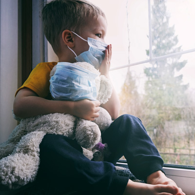 Corona Lockdown Depression Burnout Suizid - Kinder