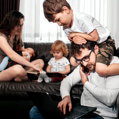 Corona Lockdown Depression Burnout Suizid - Familien