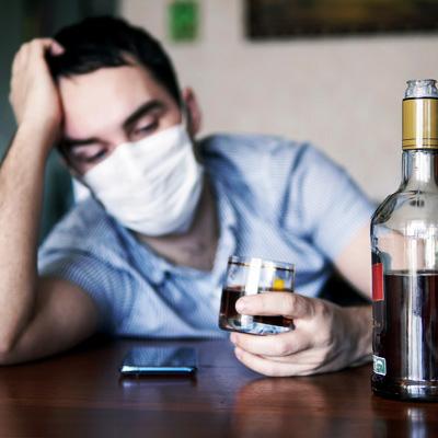 Corona Lockdown Depression Burnout Suizid - Arbeitslose