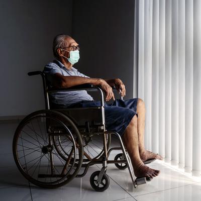 Corona Lockdown Depression Burnout Suizid - ältere Menschen