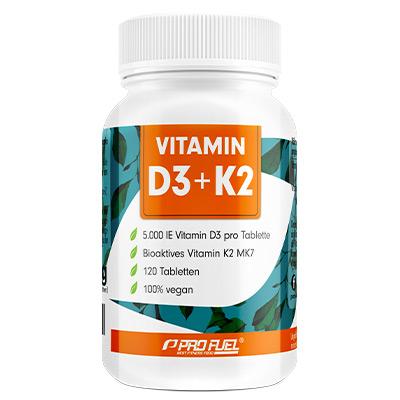 Vitamin D3 + K2 Tabletten vegan