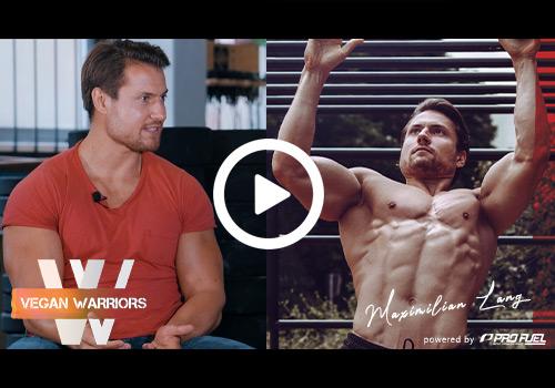 Vegan Warriors #1 | Vom dünnen Radsportler zum veganen Fitness-Athleten - Interview mit Maximilian Lang