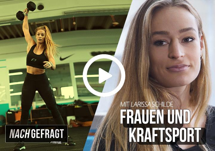 NACHGEFRAGT #1 | Cliché - Frauen und Kraftsport - Interview mit Larissa Schilde