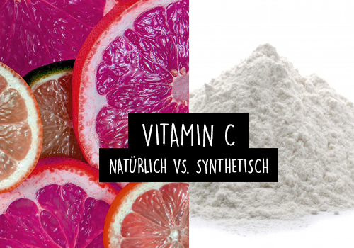 VITAMIN C | Natürliches vs. synthetisches Vitamin C - Welches ist wirklich besser?