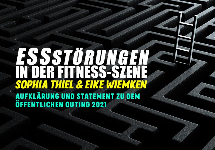Essstörungen in der Fitness-Szene: Sophia Thiel und Eike Wiemken