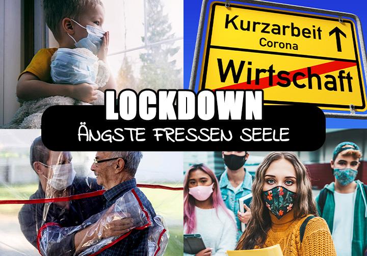 Lockdown - Ängste fressen Seele: Depression & Burnout