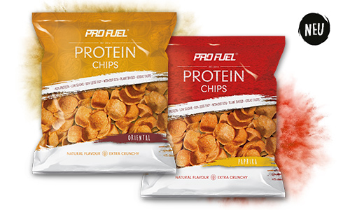 Protein Chips 42% Protein, 60% weniger Fett und ohne Soja - Jetzt NEU im Sortiment