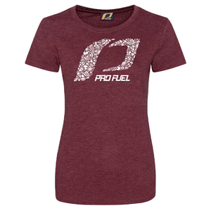 T-SHIRT Performance | Burgundy | Lady