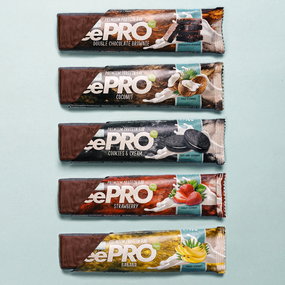 veePRO Proteinriegel | Double Chocolate Brownie | 12er SparPack